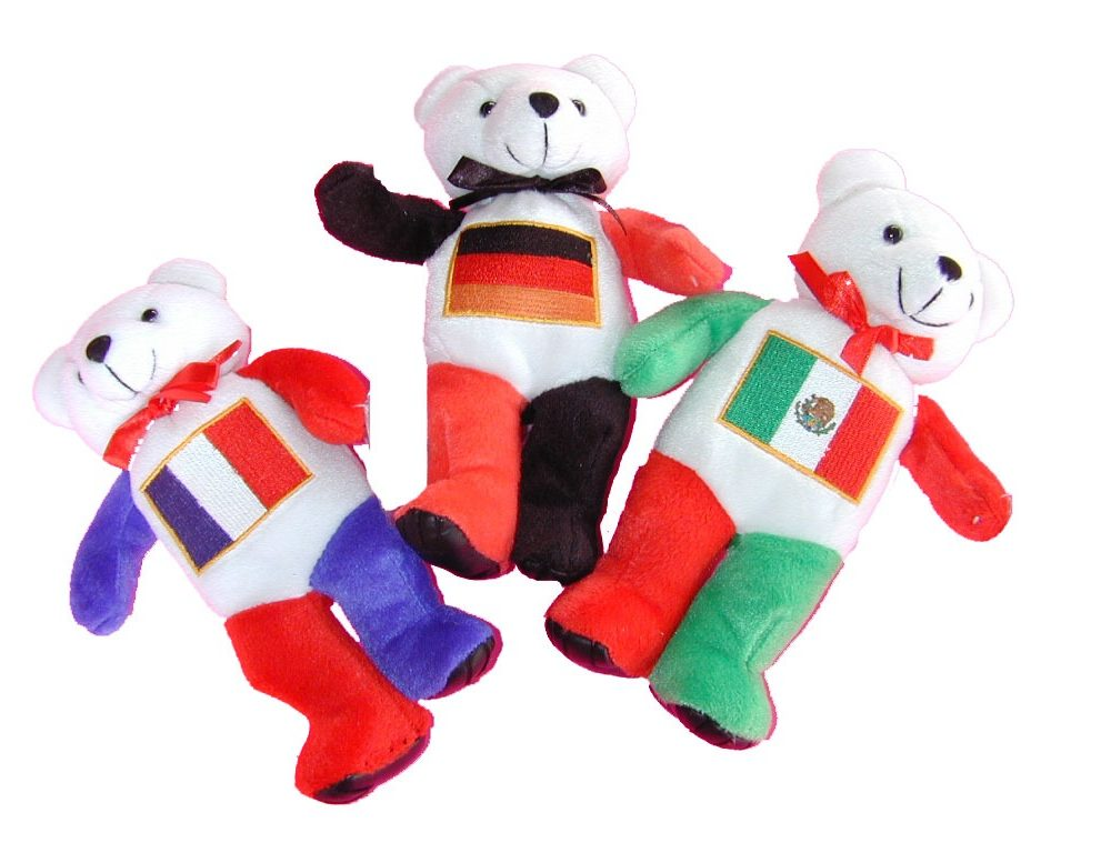 Flag Bears-Mexico Bear-0