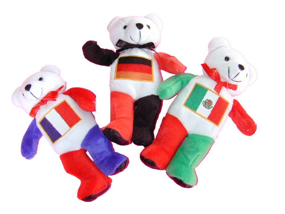 Flag Bears-Mexico Bear-3458