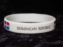 Dominican Republic Wrist Band-0