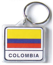 Colombia Keychain-0