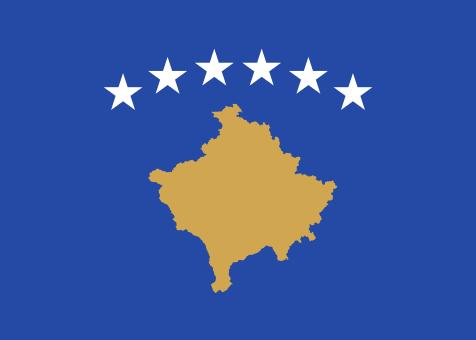 """kosovo Flag-4"""" x 6"""" Desk Flag-0"""