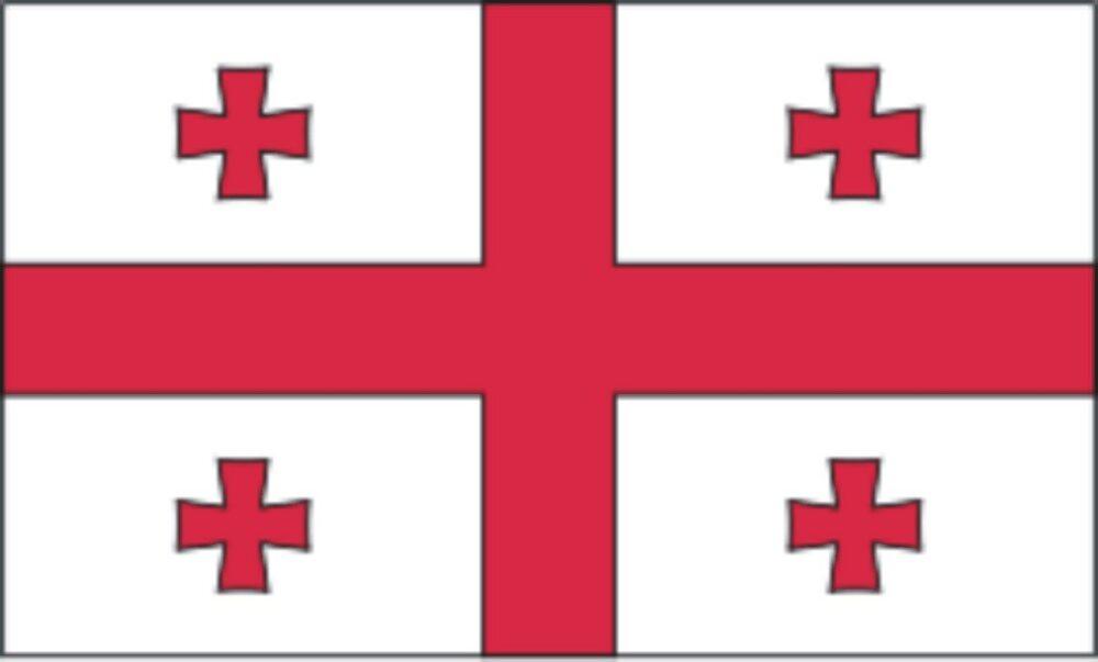Georgia-3' x 5' Indoor Flag-0