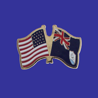 USA+Anguilla Friendship Pin-0