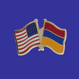 USA+Armenia Friendship Pin-0