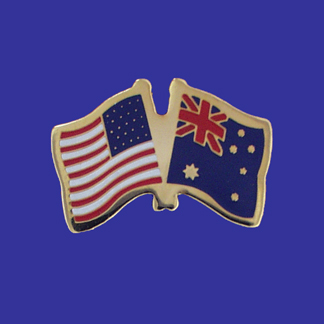 USA+Australia Friendship Pin-0