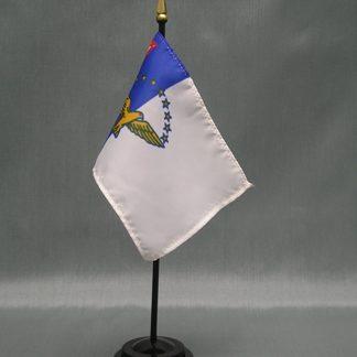 "Azores -4"" x 6"" Desk Flag-0"