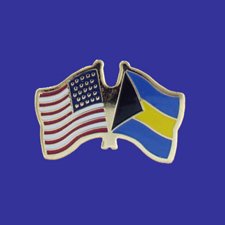 USA+Bahamas Friendship Pin-0