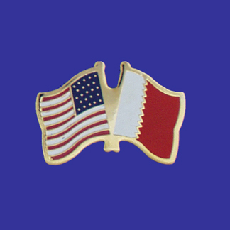 USA+Bahrain Friendship Pin-0
