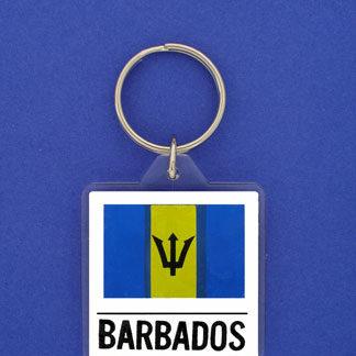 Barbados Keychain-0