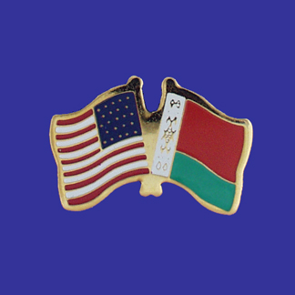 USA+Belarus Friendship Pin-0