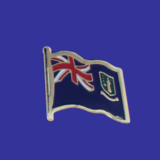 British Virgin Islands Lapel Pin-0
