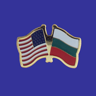USA+Bulgaria Friendship Pin-0