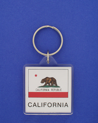 California Keychain-0