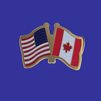 USA+Canada Friendship Pin-0