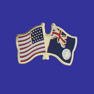 USA+Cayman Islands Friendship Pin-0