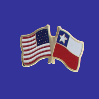 USA+Chile Friendship Pin-0