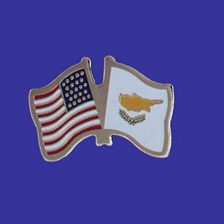 USA+Cyprus Friendship Pin-0