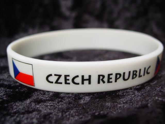 Czech Republic Wrist Band-0