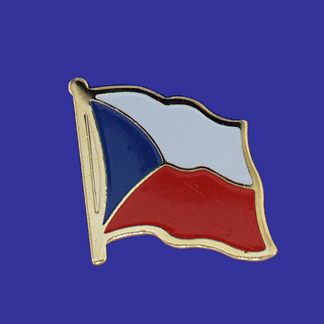 Czech Republic Lapel Pin-0