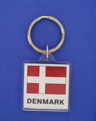 Denmark Keychain-0