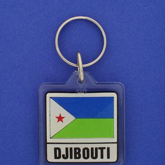 Djibouti Keychain-0
