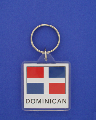 Dominican Republic Keychain-1653
