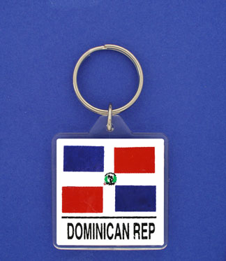 Dominican Republic Keychain-0