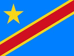 "Dem. Rep of Congo -4"" x 6"" Desk Flag-0"