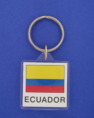 Ecuador Keychain-0