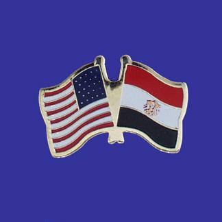 USA+Egypt Friendship Pin-0