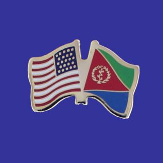 USA+Eritrea Friendship Pin-0
