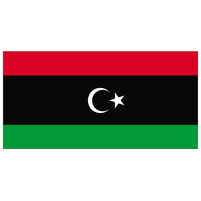 "Libya -4"" x 6"" Desk Flag-0"