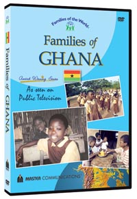 Families of the World DVD's-Families of Ghana -0