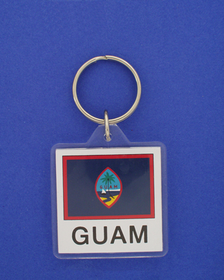 Guam Keychain-0
