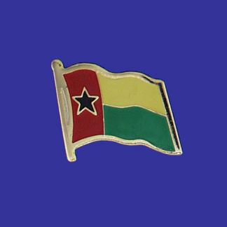 Guinea Bissau Lapel Pin-0