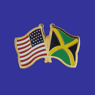 USA+Jamaica Friendship Pin-0
