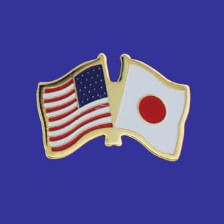 USA+Japan Friendship Pin-0