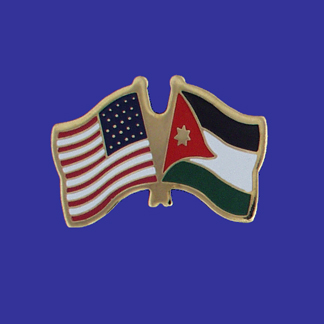 USA+Jordan Friendship Pin-0