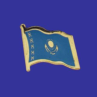 Kazakhstan Lapel Pin-0