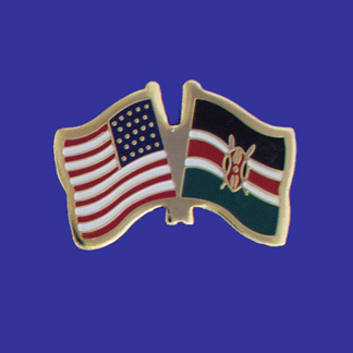 USA+Kenya Friendship Pin-0