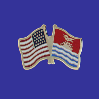 USA+Kiribati Friendship Pin-0