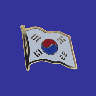 South Korea Lapel Pin-0