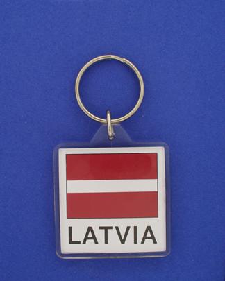 Latvia Keychain-0