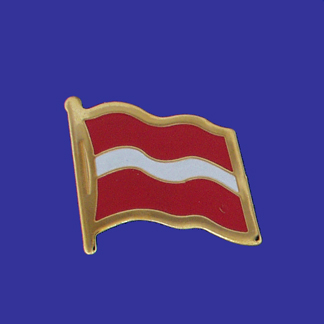 Latvia Lapel Pin-0