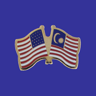 USA+Malaysia Friendship Pin-0