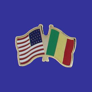 USA+Mali Friendship Pin-0