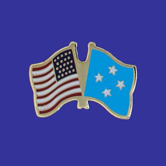 USA+Micronesia Friendship Pin-0