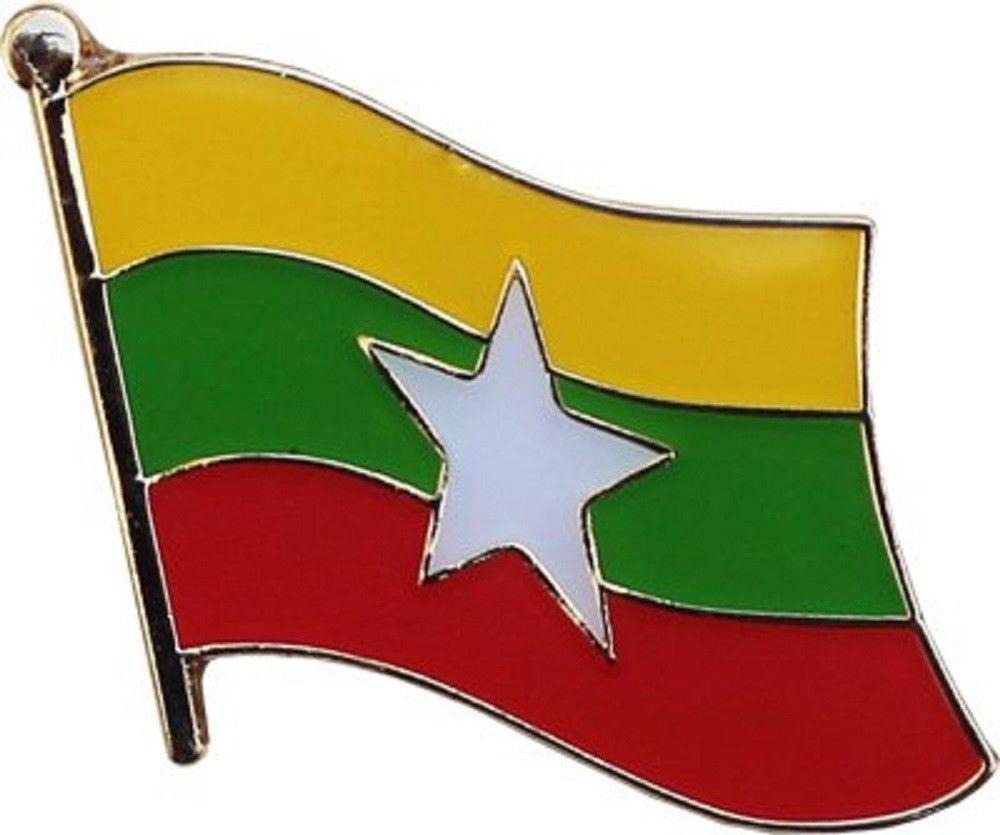 Myanmar Lapel Pin-0