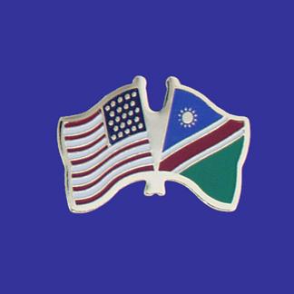 USA+Namibia Friendship Pin-0