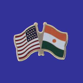 USA+Niger Friendship Pin-0